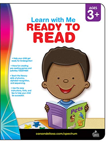 Ready to Read, Grades Preschool - K (Learn with Me)