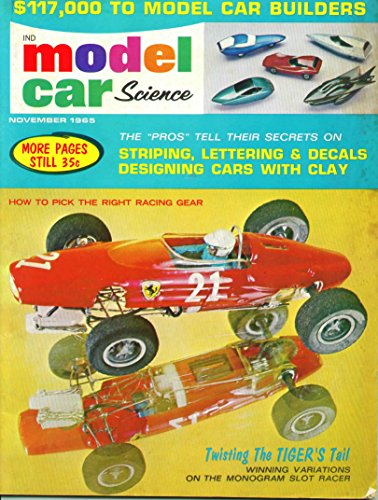 Model Car Science Magazine November 1965