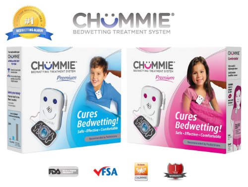 Chummie Premium Bedwetting Alarm with 8 Tones- (Best Tones For Girls)