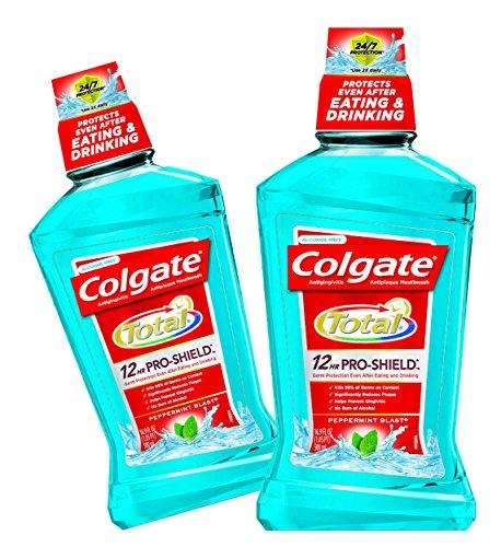Colgate Advanced Pro Shield Mouthwash Peppermint