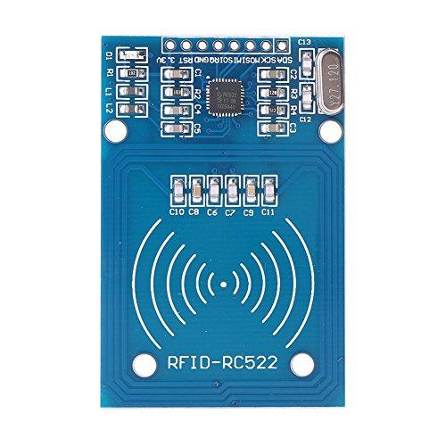 Newsmarts RC522 Card Read Antenna RF RFID Reader IC Card Proximity Module ()