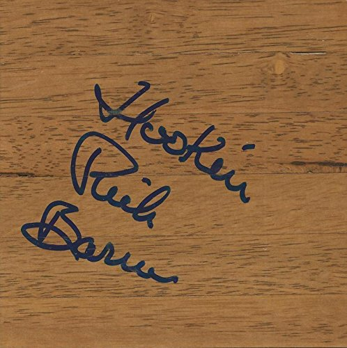 - Coach Rick Barnes Signed 6x6 Floorboard Tennessee Texas Hook Em Inscription B - Autographed College Floorboards