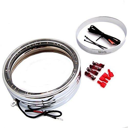クリアキン Kuryakyn LED ヘッドライト トリムリング 7インチ FLソフテイル クローム 419216 7750 B01MRLQDN0