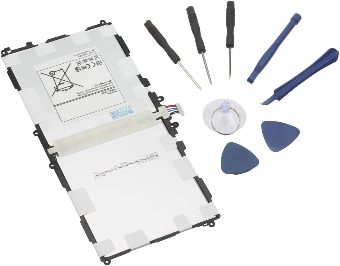 NewPower99 Battery Replacement Kit with Battery Instructions and Tools Compatible with Galaxy Note 10.1 2014 Edition Tablets