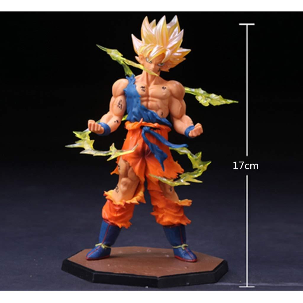 precios bajos todos los dias KYuanyuanliu Dragon Ball animación Modelo de de de Juguete Anime Personaje de Juego de Dibujos Animados Modelo Estatua Recuerdo colección Manualidades (Color   C)  40% de descuento