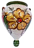 Cheap Wall Flower Pot – Spanish Orza (Spanish Oro) – Hand Painted in Spain