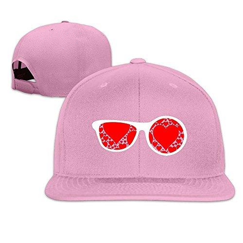MaNeg Sunglasses Red Hearts Unisex Fashion Cool Adjustable Snapback Baseball Cap Hat One - Online Sunglasses Prada