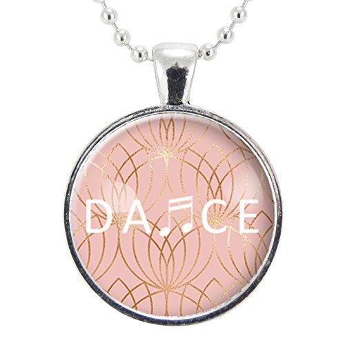 Amazon Com Dance Necklace Gift Ideas For Dancer Ballerina Gift Dance Recital Gift Ballet Necklace Dance Lover Handmade