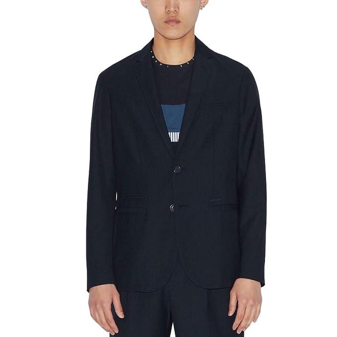 Armani Exchange 2 Button, Comfort Fabric Chaqueta de Traje ...