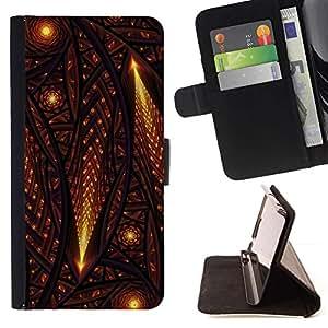 For LG G3 Case , Estrellas Comet Universo Iglesia Edad Media- la tarjeta de Crédito Slots PU Funda de cuero Monedero caso cubierta de piel