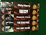 The Dirty Harry Series...Clint Eastwood Collection 5 VHS Tape SEt
