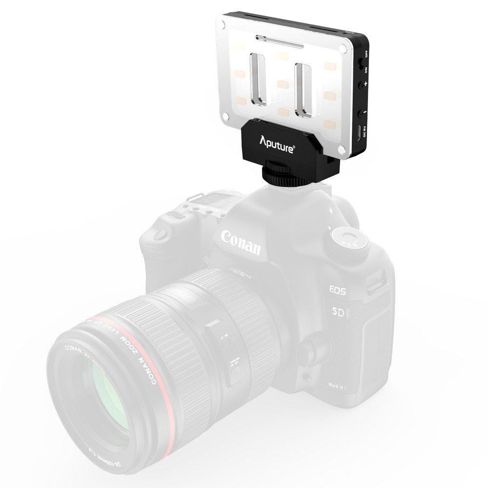 Aputure AL-M9 Amaran LED Mini Light on Camera Video Light, Black by Aputure