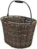 KlickFix Structura Front Handlebar Basket oval brown
