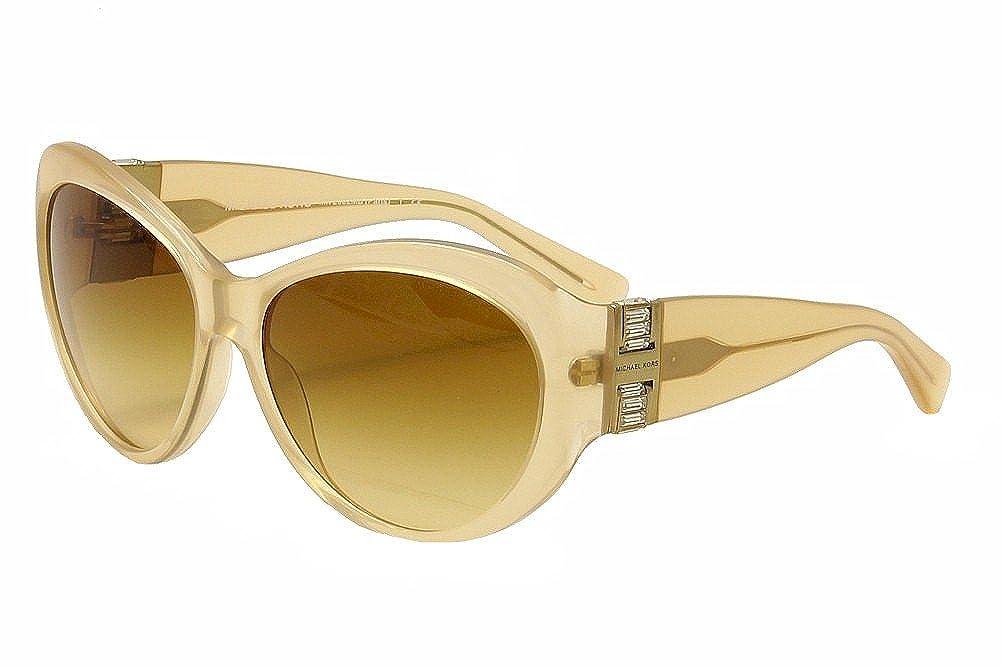 e46572c891de Amazon.com: Michael Kors Paris Sunglasses MK2002MB 304713 Milky Brown Brown  Gradient 60 16 125: Shoes