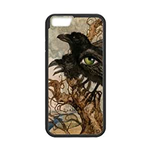 Case Cover For HTC One M7 Crow Phone Back Case Custom Art Print Design Hard Shell Protection FG061455