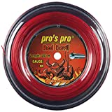 Pro's Pro Red Devil - Red 1.29mm Tennis String 200m