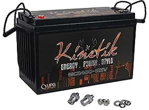 kinetik hc2400 rev 2400 watt 12v car battery power cell. Black Bedroom Furniture Sets. Home Design Ideas