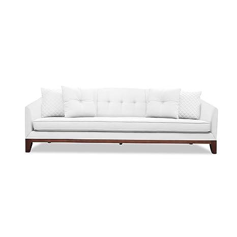 Astonishing Amazon Com South Cone Home Loitufsof84 White Lois Tufted Machost Co Dining Chair Design Ideas Machostcouk