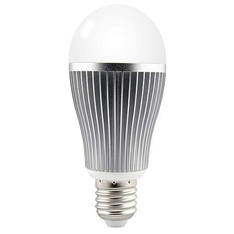 Bombilla Control Remoto,Bombilla Led E27 6W Lámpara 85-265V Regulable Mi Luz Lampada