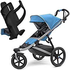 Thule Urban Glide 2 Single Stroller - Easy to maneuver wherever you go, the Thule Urban Glide 2 Single Stroller is lightweight with a swivel front wheel. An all-terrain stroller with a sleek design making it perfect for urban exploration or s...