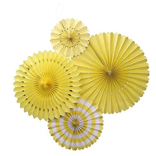 Yellow Pinwheel - 9