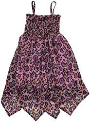 Betsey Johnson Cat Nap Hanky Bottom Dress (Toddler/Kid) - Pink-Small
