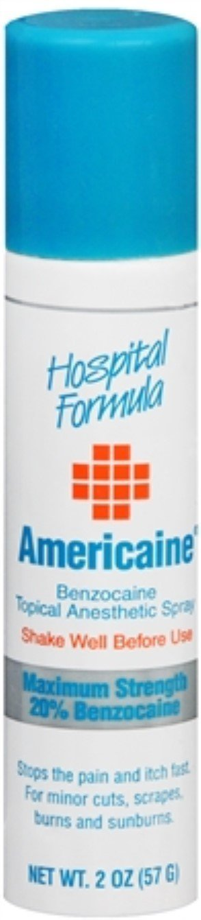 Americaine Spray 2 oz (Pack of 10) by Americaine