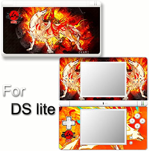 Okami Amaterasu Wolf SKIN DECAL VINYL STICKER COVER for Nintendo DS Lite