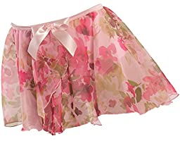 Elasticized graduated over-lapping circle skirt