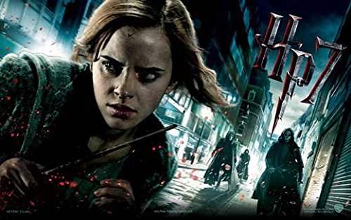 Harry Potter and the Deathly Hallows: Part I Poster Movie UK F (11 x 17 Inches - 28cm x 44cm ) Emma Watson Daniel Radcliffe Ralph Fiennes Helena Bonham Carter Tom Felton