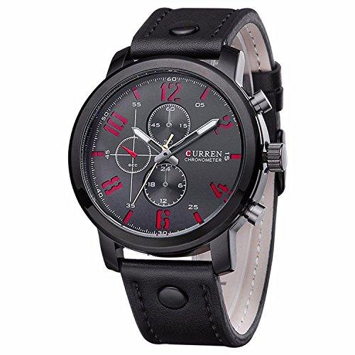 FIZILI Men's MWA011 Analog Quartz Black Watch by FIZILI
