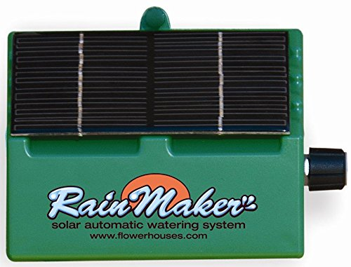 (Flower House SOL-K12 Solar RainMaker Automatic Watering System)