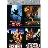 Four-Film Collection (Black Mask / Bloodsport 4 / Kickboxer / Kickboxer 2) [Import]