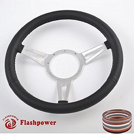 14 Classic Steering Wheel Black Chevy GMC Impala GTO W//Horn