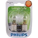 Philips 1157 LongerLife Miniature Bulb, 2 Pack