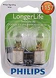 Philips 1157LLB2 1157 LongerLife Miniature Bulb, 2 Pack