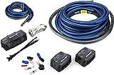 Kicker 46PKD1 Car Audio 1/0 Gauge OFC Dual Amp Amplifier Install Kit PKD1 New