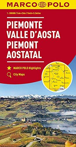 MARCO POLO Karte Italien Blatt 1 Piemont, Aostatal 1:200 000 (MARCO POLO Karten 1:200.000)