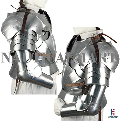 Complete Medieval Knight Arms Armor Set 14 Gauge by NAUTICALMART