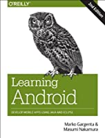 Learning Android, 2nd Edition Front Cover