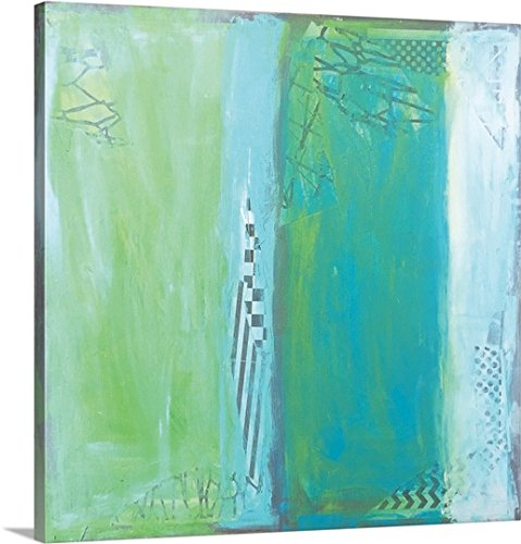 Leslie Saeta Gallery-Wrapped Canvas entitled Sea Glass VII by greatBIGcanvas