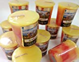2 oz Rd votive candles 12/pk - Sunflower- Fresh Sunflower Scent.