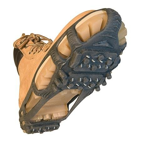 (STABILicers Walk Traction Ice Cleat, Medium (7.5-10 Men / 8.5-12 Women), Black)