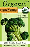 Search : Ferry-Morse Organic Broccoli Green Sprouting Calabrese Seeds