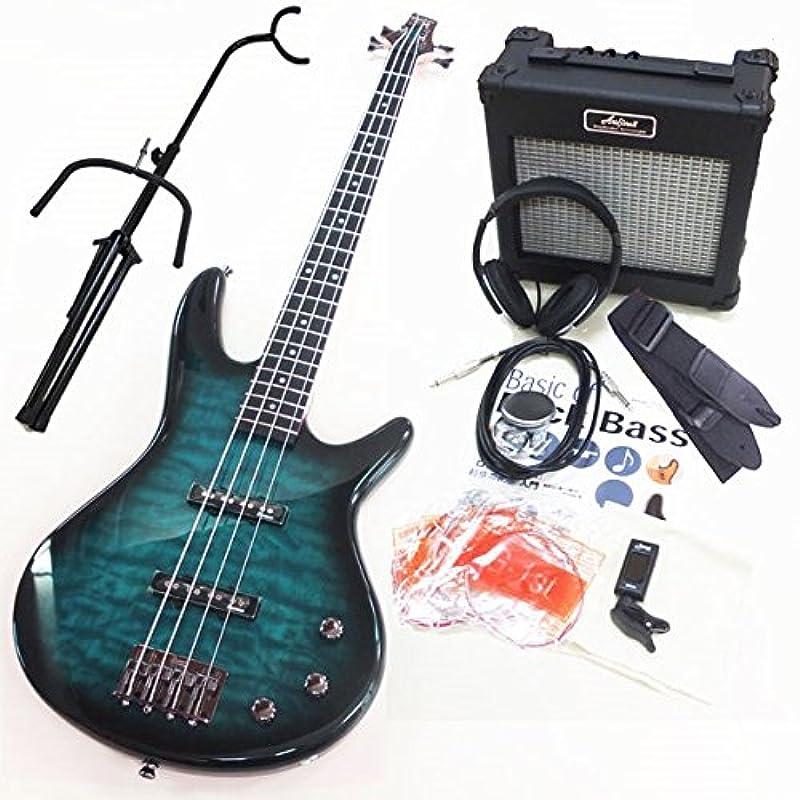 Ibanez 아이 바니의 일렉트릭 기타 베이스 GSR370 TMS 13 점스페셜 입문 세트