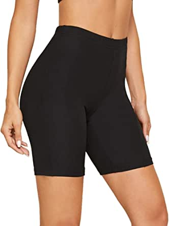 Gayhay Biker Shorts for Women - Soft Stretchy Under Dresses Pants for Athletic Workout Running Cycling Yoga