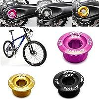 Eje de Aluminio, Piezas MTB lpyfgtp Tornillos para manivela de Bicicleta de monta/ña