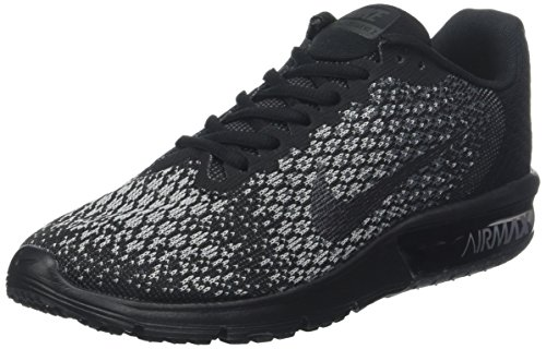 Max Air Grey Running Sequent Mtlc Dark 2 Nike Mens Shoes Black SPOqn
