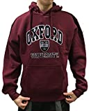 Official Oxford University Hoody - Burgundy - Official Apparel of the Famous Univeristy of Oxford