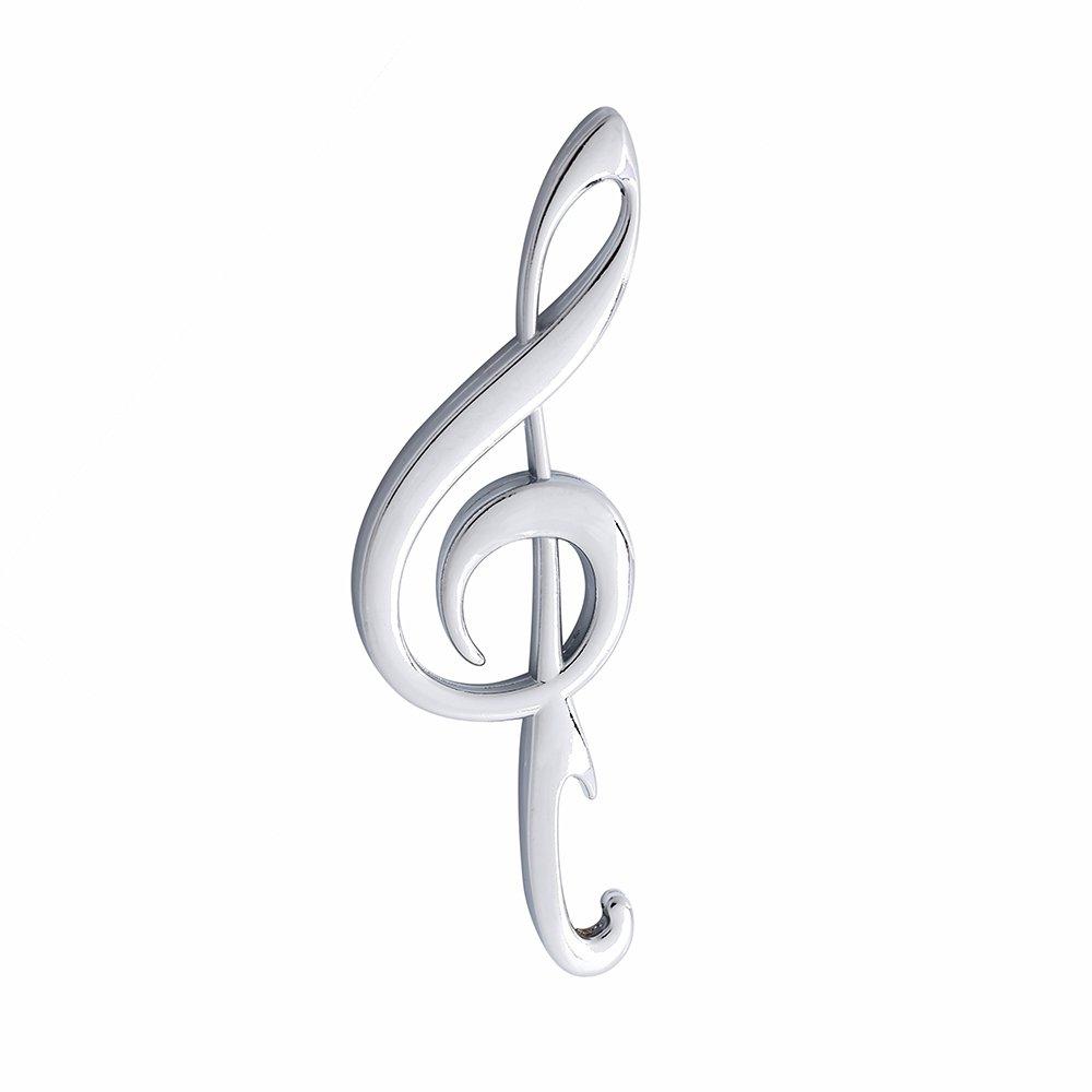 Apribottiglie con nota musicale modello (argento) ZYCX123